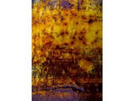Golden rust texture