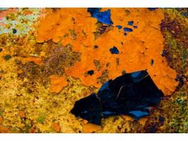 Metal-envelope rusty texture
