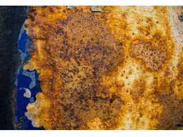 Metal envelope rusty texture