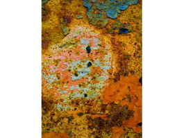 Metallic corrosion texture