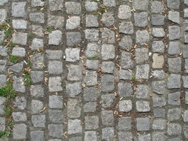 Old paving stone texture