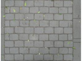 Rectangle of brick paving texture