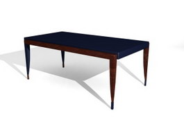 Sitting room Coffee Table 3d model preview