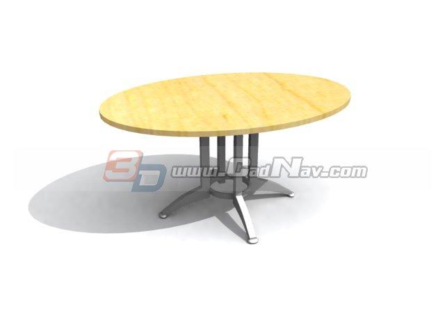 Drawing Room Coffee Table 3d Model Cadnav
