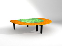 Sector Conference Table 3d model preview