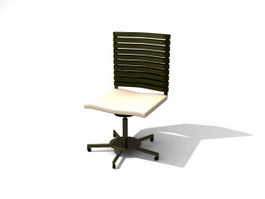Office Computer Chair 3d model preview