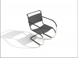 Cantilever Conference Chair 3d preview