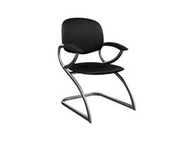 Cantilever office Armchair 3d preview