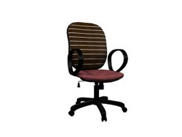 Mesh Computer Chair 3d preview