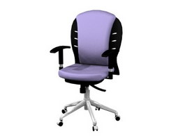 Iral swivel lifting chair 3d model preview