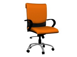 Office Manager Swivel Chair 3d model preview