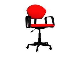 Office Swivel Lift Chair 3d model preview
