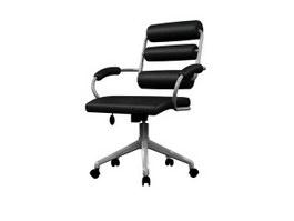 Office Swivel massage armchair 3d model preview