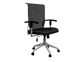 Office Executive Swivel Chair 3d model preview