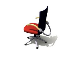 Adjustable Swivel Lift Chair 3d model preview