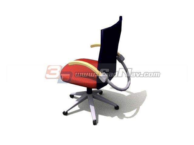 Adjustable Swivel Lift Chair 3d rendering