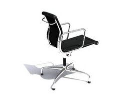 Eames Soft Pad Office Chair 3d model preview