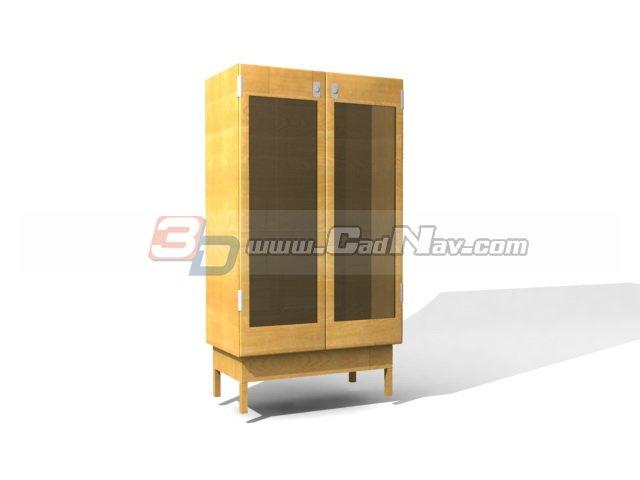 Filing storage cabinet 3d rendering