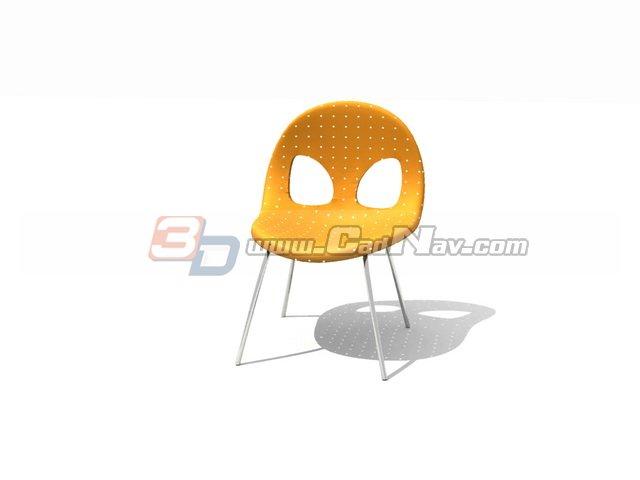 Garden Vegetal Chair 3d rendering