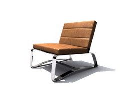 Office Barcelona chair 3d preview