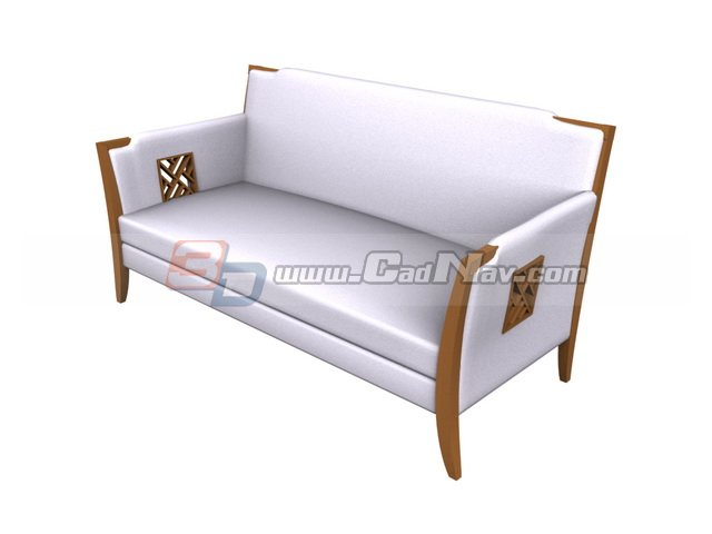 Office Public Waiting sofa 3d rendering