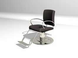 Salon Barber Chair 3d preview