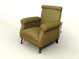 Sofa design modern 3d model preview