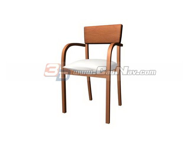 Sheraton chair dining chair 3d rendering