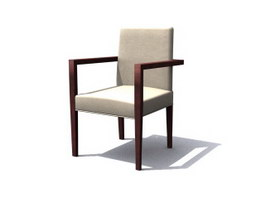 Sheraton Dining Chair 3d preview