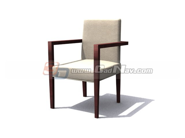 Sheraton Dining Chair 3d rendering