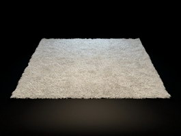 Small bathroom rug 3d preview