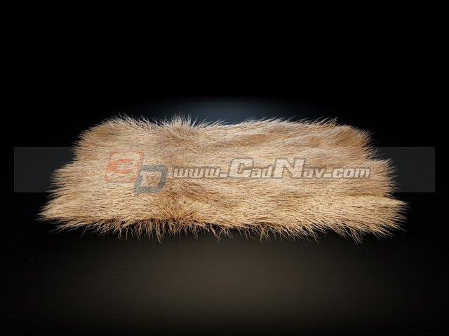 Long Hair Carpet 3d Model 3dmax Files Free Download