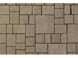 Clay brick floor texture