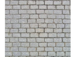 Black brick floor texture