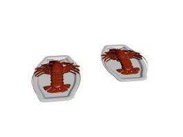 Steamed lobster 3d preview