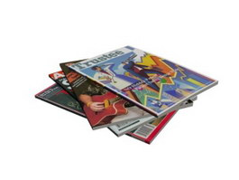 Books and magazines 3d preview