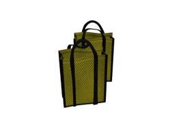 Reusable bags 3d model preview