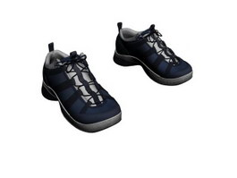 Men sports shoes 3d preview