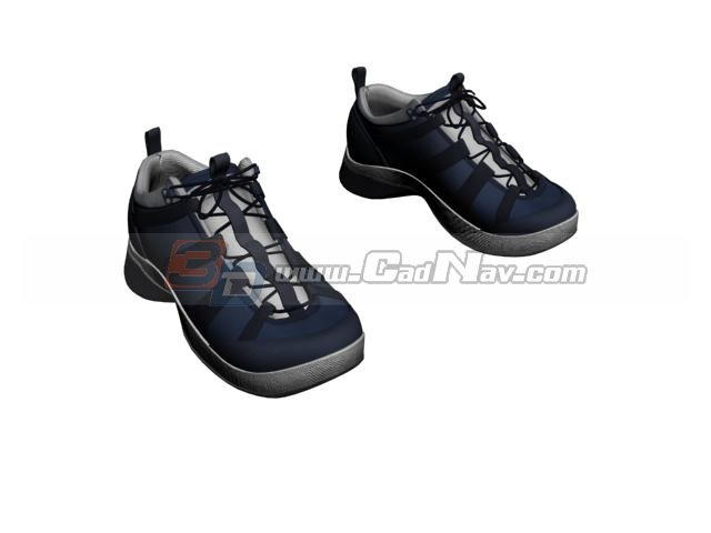 Men sports shoes 3d rendering