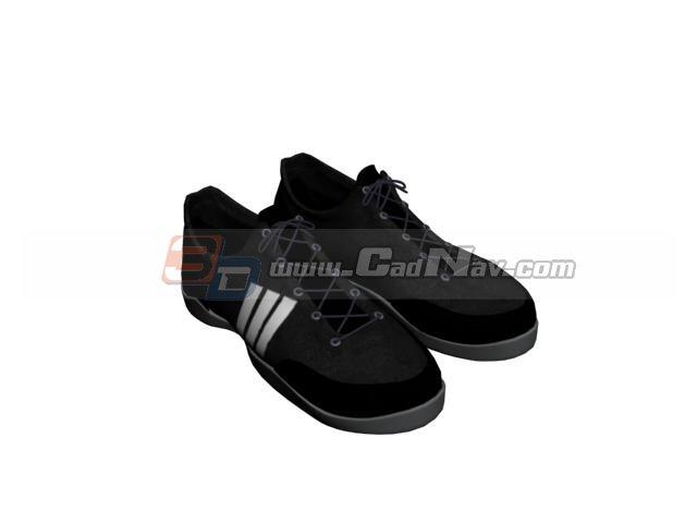 Men Mesh casual shoe 3d rendering