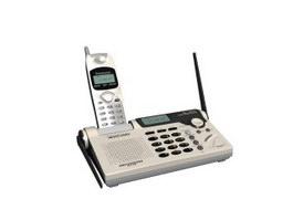 Panasonic cordless phone 3d model preview