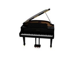 Grand Digital Piano 3d preview