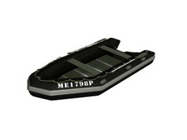 Rafting boat river kayak 3d preview