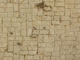 Clay brick block floor texture