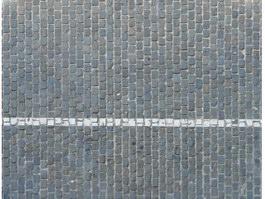 Grey clay paving bricks texture