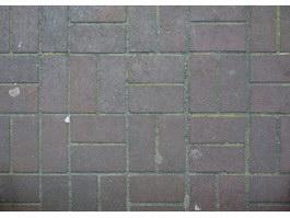 Red paving brick floor texture