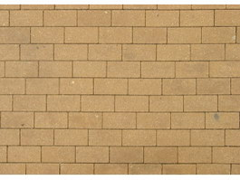 Fired clay brick wall texture