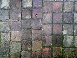 Brick floor antiquate and squalor texture