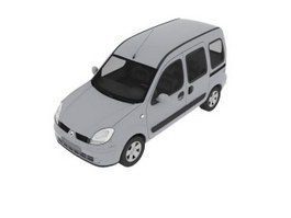 Renault car 3d model preview