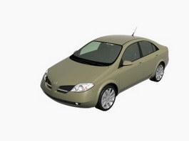 Nissan Primera Infiniti G20 3d model preview